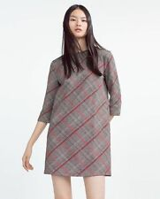 Zara Check Plus Size Dresses for Women