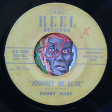 HEAR Bobby Hart 45 Girl In The Window/Journey Of Love REEL 100 teen teener rock