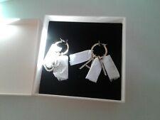 GIAMBATTISTA VALLI x H&M Hoop Earrings Sparkly Stones Letter  BNIB