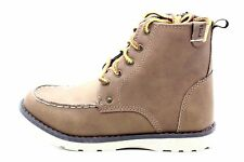 Crevo Youth Buck Ankle Boot Side Zipper Tan Toddler Size 7 M US