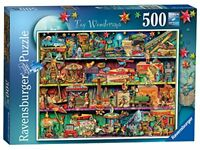 Ravensburger Toy Wonderama Jigsaw Puzzle 500 Pieces Old Fashioned Vintage