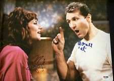 MARRIED W/ CHILDREN ED O'NEILL  KATEY SAGAL AUTOGRAPHED 11 x 14 PHOTO PSA DNA