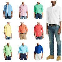 Polo Ralph Lauren Men's Shirt S M L XL 2XL Button-down LS Classic Oxford, $98.50