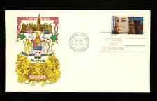 Postal History Canada #615 FDC Jeanne Mance Nurse Medical 1973 Ottawa ON