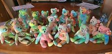 New ListingHuge Lot of 16 Ty Peace Bear Beanie Babies Mwmt Authenticated