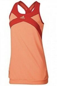 NWT Adidas Adizero Tank Top ~ Sz XS ~ Ultrabright Core Orange/Red