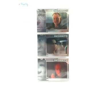 Alias Season 4 Regrets 3 x Cards Foil Chase Trading R1 R2 R6 2006 INKWORKS