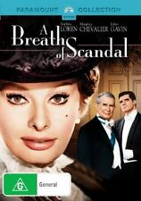 A BREATH OF SCANDAL DVD R4  Sophia Loren NEW