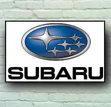SUBARU LOGO 2FT LARGE GARAGE SIGN WALL PLAQUE CLASSIC WORKSHOP IMPREZA SPORT