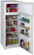 Apartment Refrigerator Glass Storage Shelf Dorm Office 7.4 cu ft Compartments