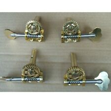 1/2&1/4 double bass machine head winders pegs with extra screws