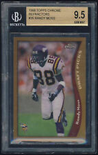 1998 Topps Chrome Refractor rookie #35 Randy Moss rc BGS 9.5