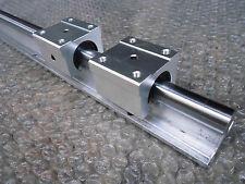1XSBR16-1000mm 16MM FULLY SUPPORTED LINEAR RAIL SHAFT+ 2 SBR16UU Rounter Bearing