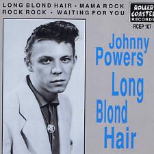 Johnny poderes-largo cabello rubio + Rock Rock + Mama Rock + 1-EP Rockabilly Caliente