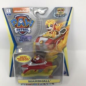 """PAW PATROL"" True Metal MARSHALL Nickelodeon TV - Car & Poster - New & Sealed"