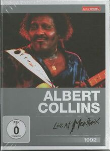 Albert Collins - Live At Montreux 1992    New dvd in seal
