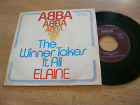 "7"" Single ABBA The Winner Takes it All / Elaine  Vinyl Amiga DDR 4 56 460"