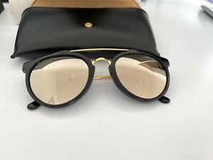 Retrosuperfuture Giaguaro Black Ivory Sonnenbrille / Zeiss / NEU