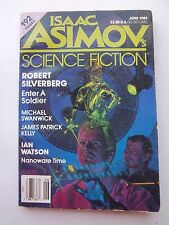 Isaac Asimov's Science Fiction Magazine Book June 1989 Robert Silverberg