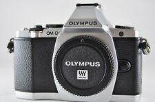 "[Count ""202"" Exc⁺⁺] OLYMPUS OM-D E-M5 Silver (Body) Mirrorless SLR Camera"