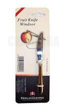 Windsor couteau à fruits en acier inoxydable par Grunwerg neuf envoi gratuit