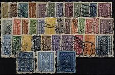 Echte Briefmarken mit Einzelfrankatur österreichische