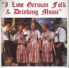 NEW I Love German Folk & Drinking Music (Audio CD)