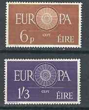 Ireland Stamps 175-6 SG 182-83 Europa MNH VF 1960 SCV