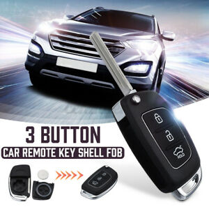 For Hyundai Santa Fe IX35 i20 2013~2014 Remote Entry Key Keyless Fob Case Shell