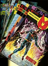 Miracle Man 1,2,3,4,5,6,7,8,9,10,11,12,13,14,16 (1985) (Eclipse,Moore) *15 Books