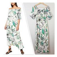 [ WITCHERY ] Womens Tropical Print Dress | Size AU 8 or US 4
