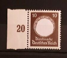 Deutsches Reich Dienstmarke Nr. 137** postfrisch, Randstück