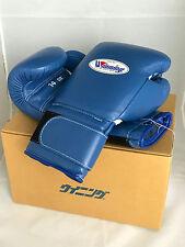 WINNING Boxing Gloves MS-500B Tape Pro Type Training 14 oz Blue Made in Japan