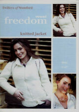 """Twilleys Knitting Pattern 9011 Ladies Knitted Fitted Jacket 32-42"""" Super Chunky"""
