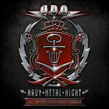 2 CD SET U.D.O. NAVY METAL NIGHT FEAT. THE MARINEMUSIKKORPS NORDSEE NEW UDO