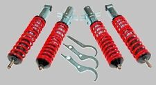 KIT SUSPENSION REGLABLE FILETÉ COMBINES AMORTISSEUR VW POLO 6N