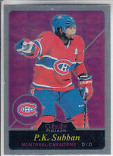 15/16 OPC Platinum Montreal Canadiens P.K. Subban Retro card #R67