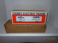 LIONEL #19918 1992  Christmas Boxcar