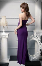 Petite Full Length Sleeveless Clubwear Dresses for Women