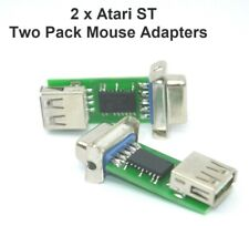 Atari ST PC Mouse Adapters Twin Pack - Two Adapters