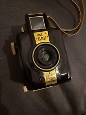 Bakelitkamera BILORA BLITZ BOY, Bakelite Camera, mit Tasche 1957 letztes Modell!