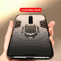 For Xiaomi Mi 9T Redmi K20 Pro Slim Hybrid Armor Magnetic Ring Holder Case Cover
