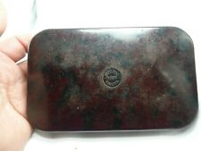 LARGE VINTAGE HARDY BROS BAKELITE FLY FISHING FLY BOX CASE WITH FLIES