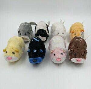 Zhu Zhu Pets LOT 8 ZuZu Hamsters