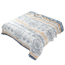 Pure cotton blanket bed cover super cozy summer quilt Japan 4layer gauze blanket