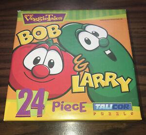 NEW Veggie Tales Bob & Larry Puzzle 24 pieces, ages 3-7