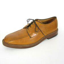 Allen Edmonds Hillcrest Size 9.5 D Blucher Oxford Chestnut Brown Men Shoe Walnut