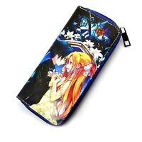 Sword Art Online Kirito Asuna PU Purse Anime Wallet