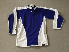 School Rugby Shirt Falcon PE 38/40 Inches Royal Blue & White