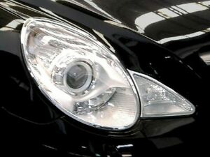 Mercedes w251 (06-10) CHROME Headlight Frame Rings Accent head lamp trim